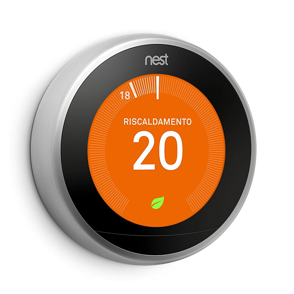 Nest learning thermostat termostato wifi opinioni e for Spegnimento riscaldamento 2017