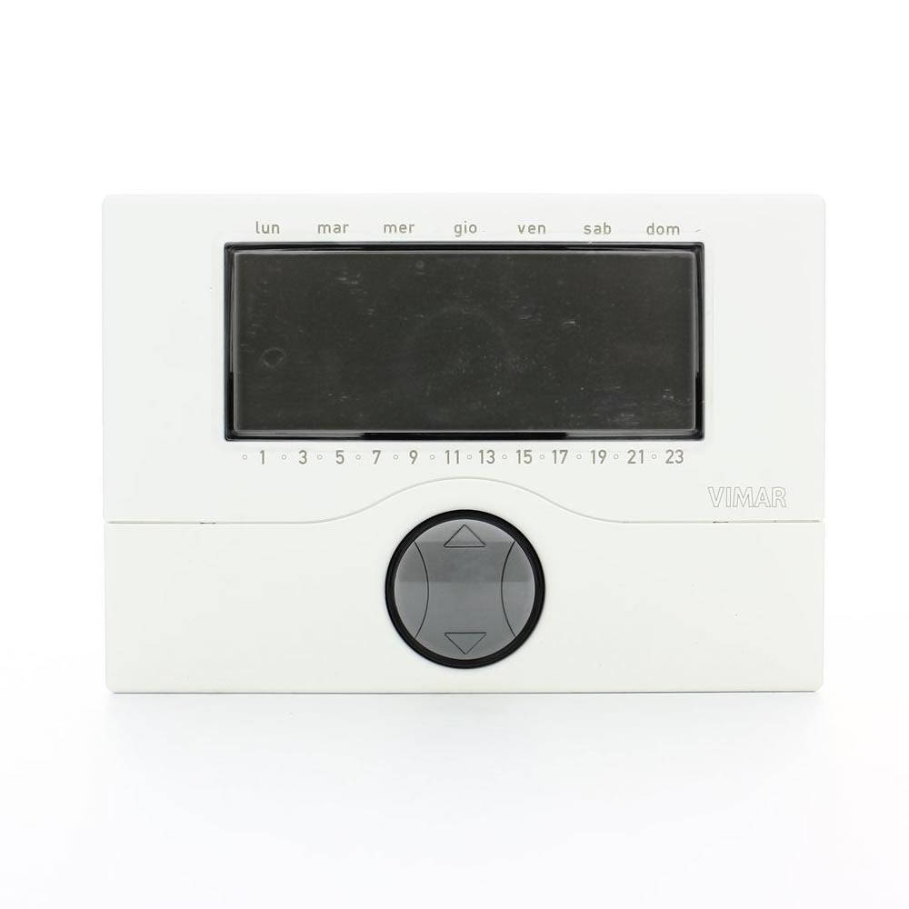 Cronotermostati prezzi e recensioni for Termostato touchscreen gsm vimar 02906